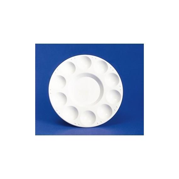 Palette Plastique OZ - Ronde - 10 Alvéoles - Diamètre: 17.5 cm - FC40112