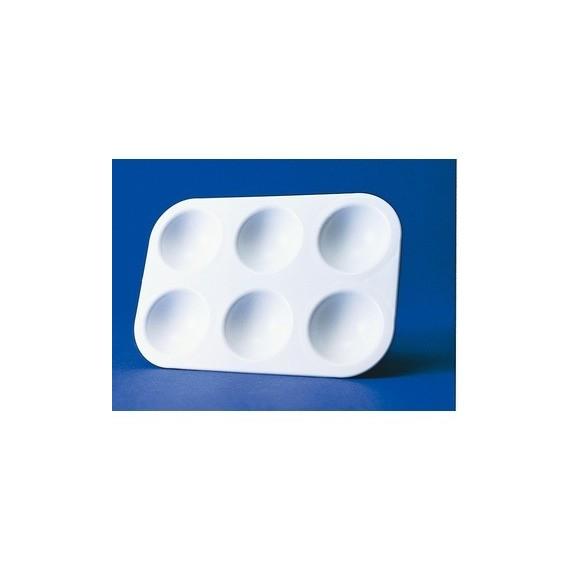 Palette Plastique OZ - Rectangulaire - 6 Alvéoles - FCPTF06