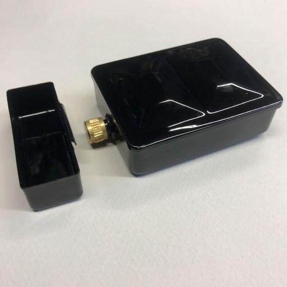 Boite vide FOME Luxe - Pour 8 1/2 godets - Boite métal émaillé avec reserve eau