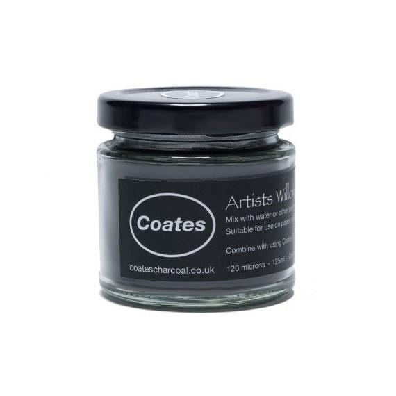 Fusain en poudre COATES - Pot:500 ml