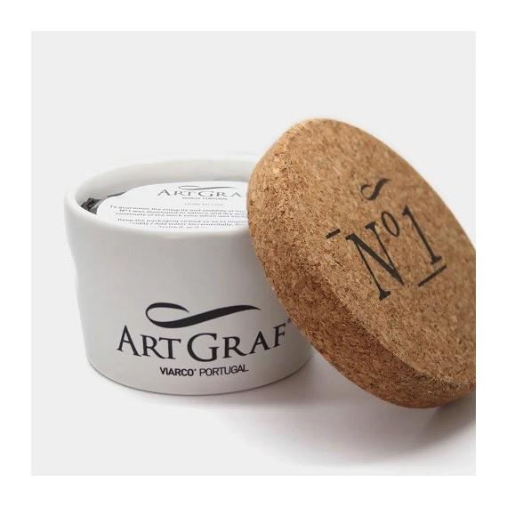 Pâte à modeler (Craie) ART GRAFT Graphite aquarellable - Pot:450 gr
