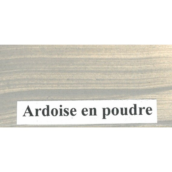 POT OCRE DE PUISAYE% ARDOISE POT: 700 Gr