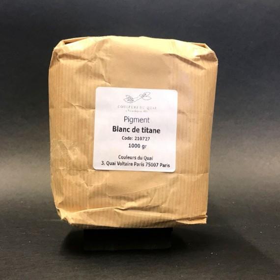 PIGM CDQV BLANC% DE TITANE EXTRA 1 Kg