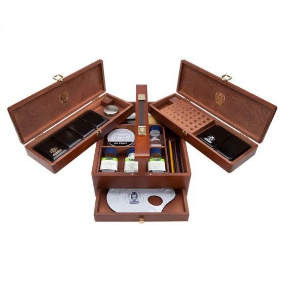 Coffret Aquarelle SCHMINCKE -Extra-fines - Inclue: 2 Boites métal + accessoires