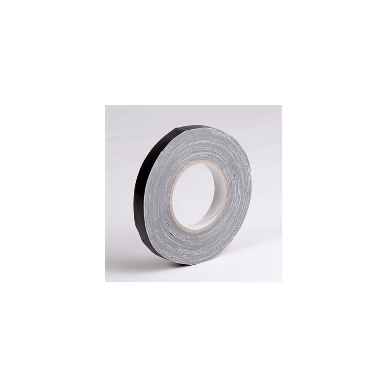Rouleau adhésif toilé noir - CLAIREFONTAINE - 19 mm x 50 mètres - Ph neutre - Acid free