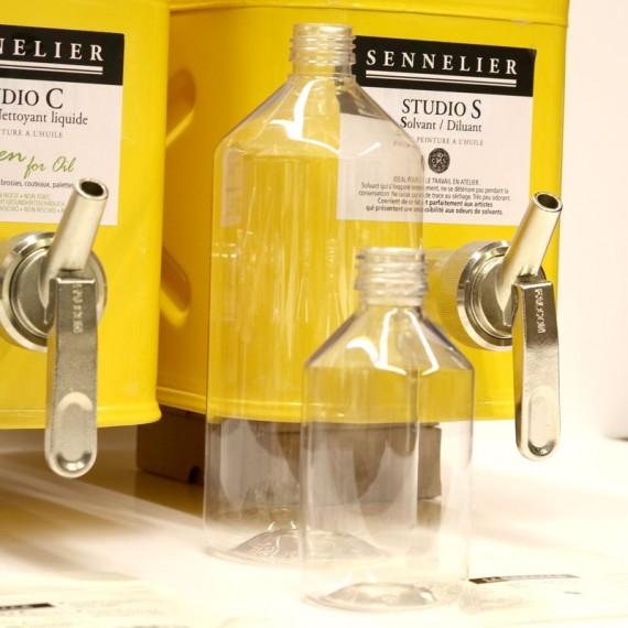 Diluant Studio S (sans odeur -2% d'aromatique) - SENNELIER -  Fl:1 L à recharger (Sans flacon) - Net