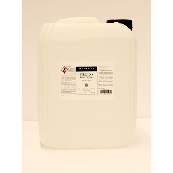 Diluant Studio S (sans odeur -2% d'aromatique) - SENNELIER -  Bidon:10 litres (Uniquement sur cde)