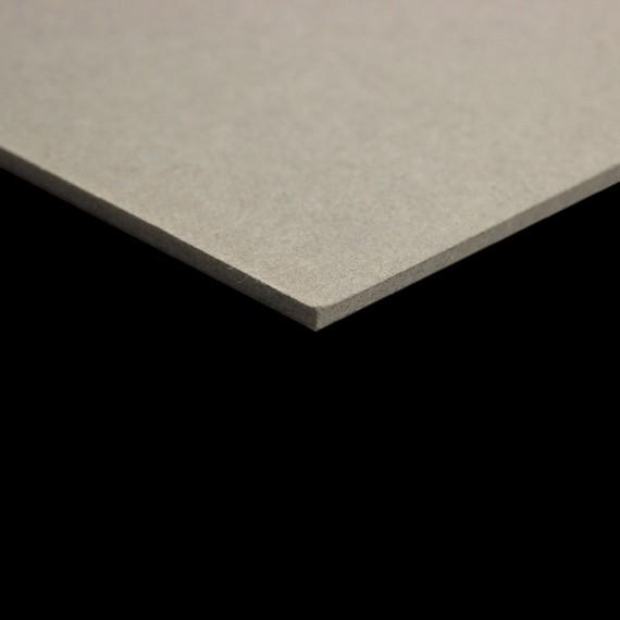 Carton gris CLAIREFONTAINE - 2.5mm - F:50x65cm - 1625g - Gris