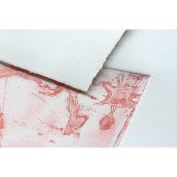 Rouleau papier gravure CLAIREFONTAINE Fleur de coton - 300g - F:1.30 x 10 m