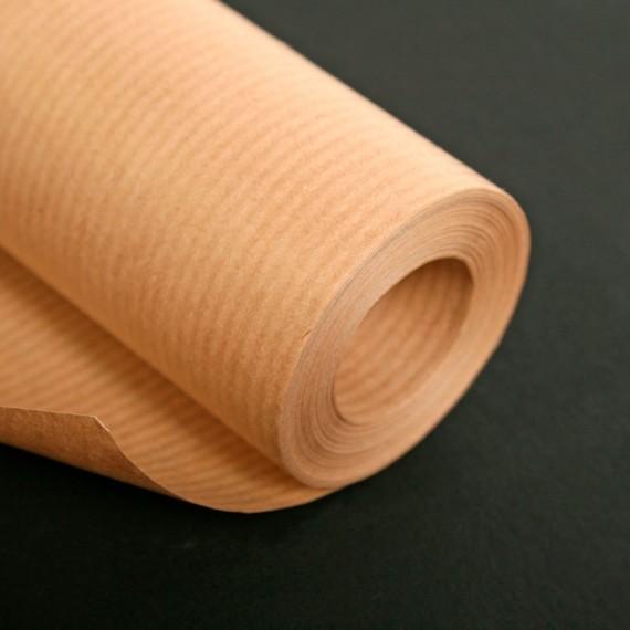 Rouleau papier Kraft CLAIREFONTAINE - 120gr - 1 X 10 mètres - Vergé