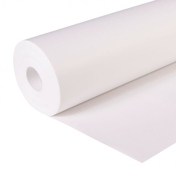 Rouleau papier Kraft CLAIREFONTAINE - 160gr - 1.30 X 10 mètres - Blanc