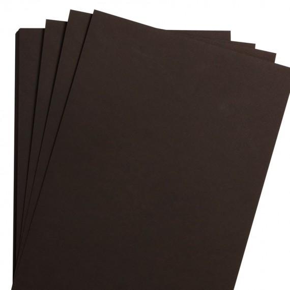 Papier aquarelle CLAIREFONTAINE Fontaine - 300gr - Papier noir - F:56 x 76 cm - Grain fin