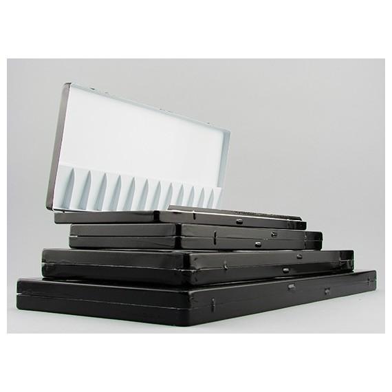 Palette aluminium HOLBEIN - 1130-200 - Pour aquarelle - F: 36 x 16 cm (Pliante)