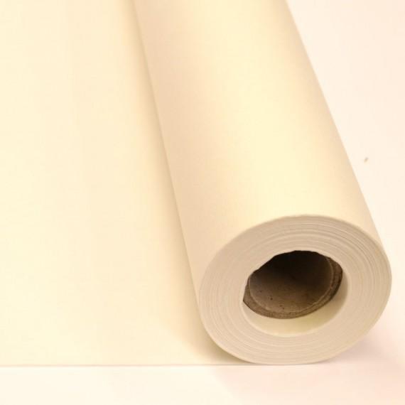 Rouleau papier de Chine - Fibre Naturelle mélangée- Blanc  - M7  - F: 35 x 2000 cm