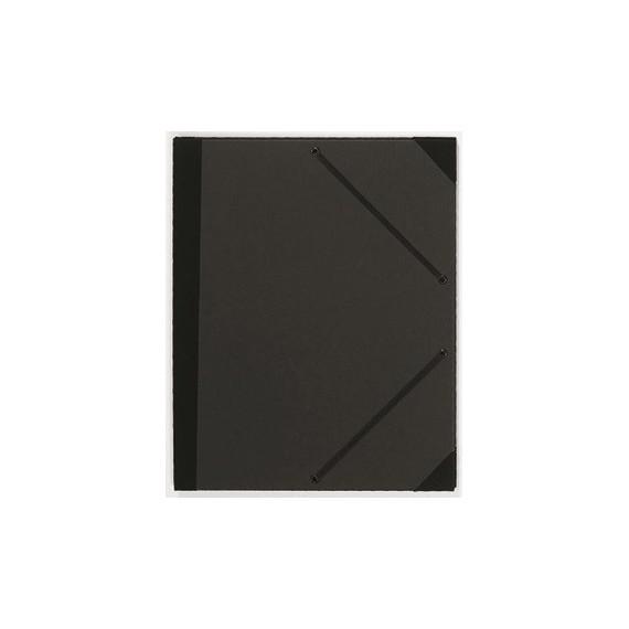 Carton à dessin PRAT - F:24 x 32 cm - A élastique - Noir