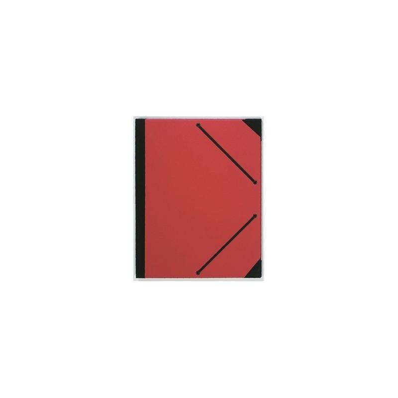 Carton à dessin PRAT - F:24 x 32 cm - A élastique - Rouge