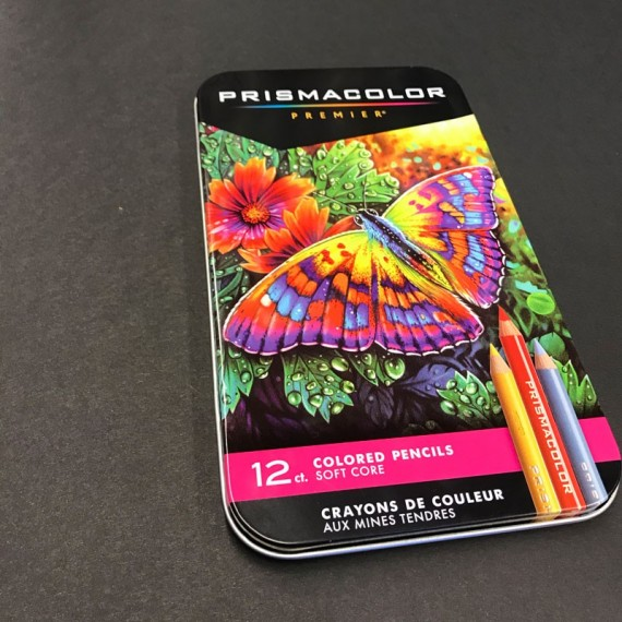 Boite crayon de couleur PRISMACOLOR - 12 Crayons assortis