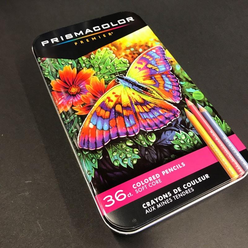 Boite crayon de couleur PRISMACOLOR - 36 Crayons assortis
