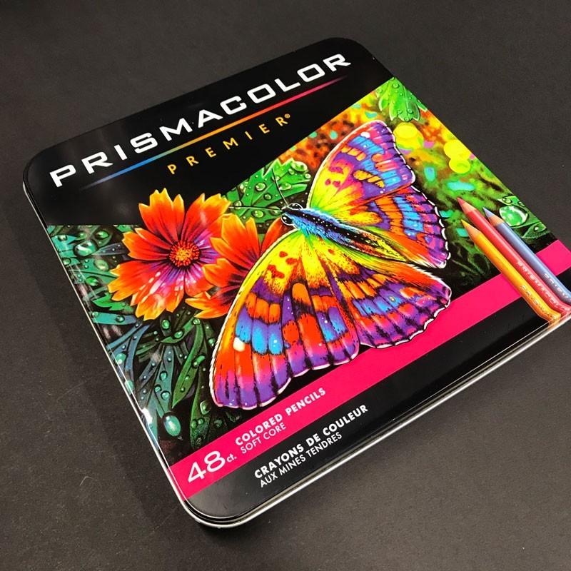 Boite crayon de couleur PRISMACOLOR - 48 Crayons assortis