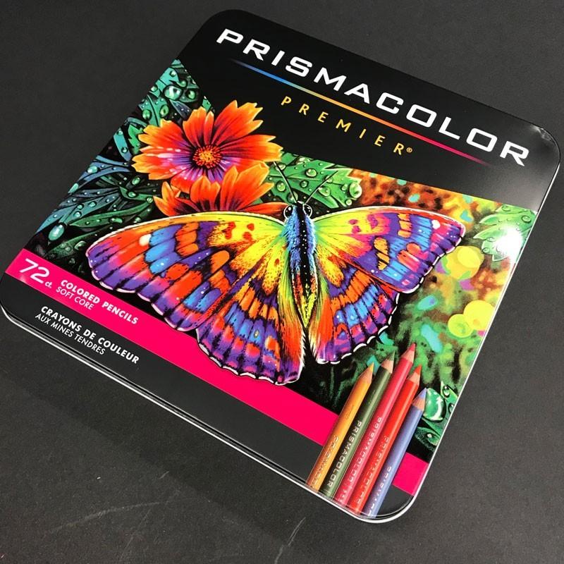 Boite crayon de couleur PRISMACOLOR - 72 Crayons assortis