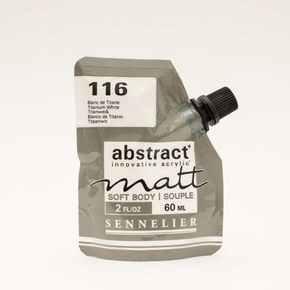 Peinture acryliqueSennelier Abstract mat  acrylique Sennelier Abstract mat:blanc de titane