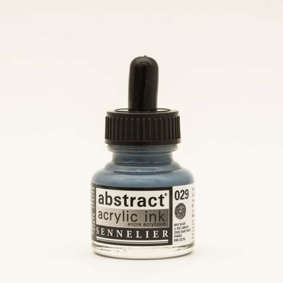 Encre acrylique Sennelier Abstract  encre acrylique:iridescent argent