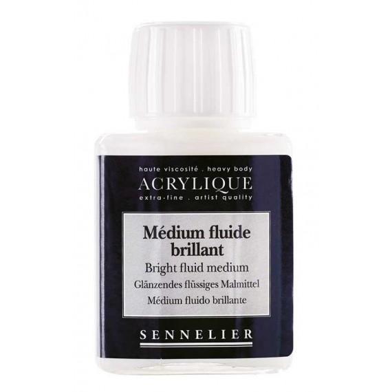 Médium fluide SENNELIER  Finition:brillant
