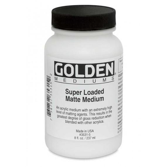 Médium acrylique extra mat GOLDEN