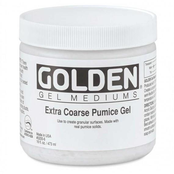 Gelde pierre ponce très gros grain Golden