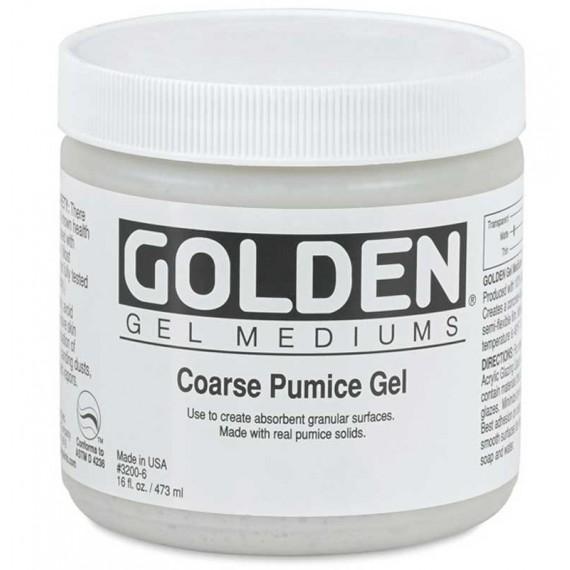 Gel de pierre ponce gros grain Golden