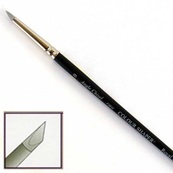 """Pinceau en silicone ferme """"Colour Shaper""""  Forme:Biseauté effilé"""