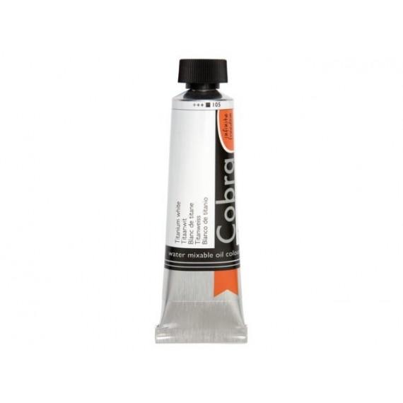 Peinture à l'huileCobra huile Cobra:blanc de titane