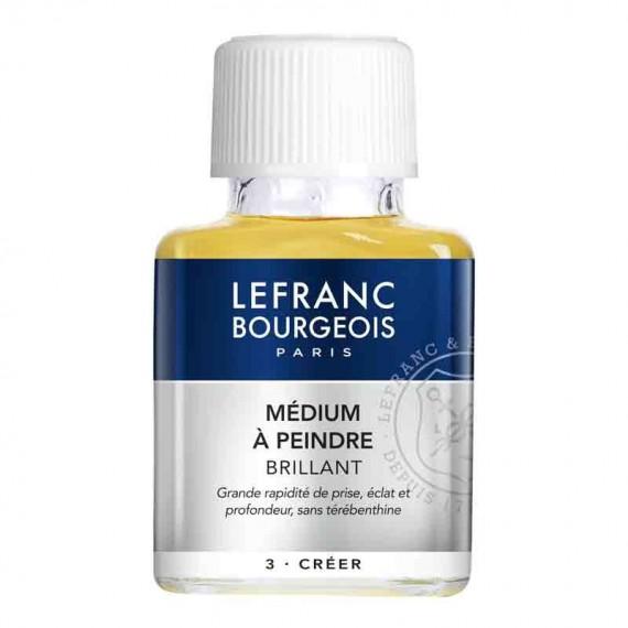 Médium huile LEFRANC & BOURGEOIS - Médium à peindre brillant incolore