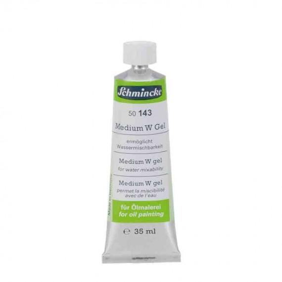 Médium huile SCHMINCKE - Médium gel W - Tube: 35 ml