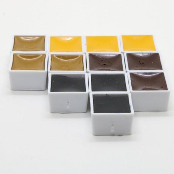 Aquarelle BLOCKX - Extra-fine - Série 1 - Godet: 15 ml  aquarelle Blockx:blanc de titane