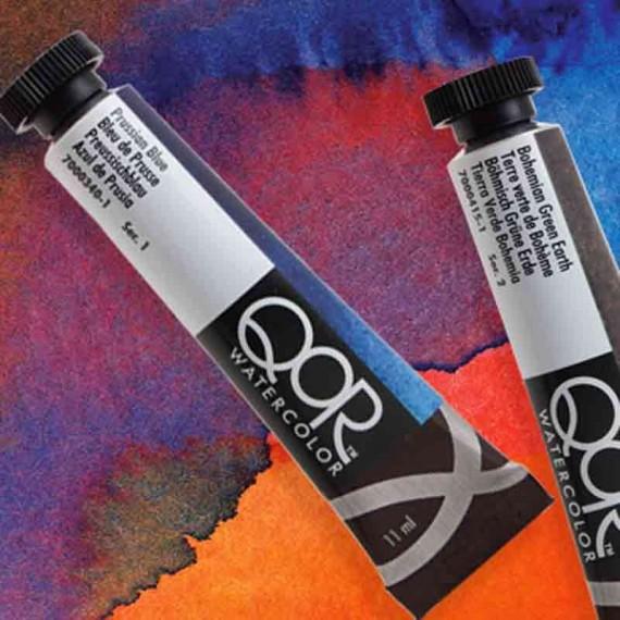 QoR watercolor  aquarelle QoR:blanc de chine