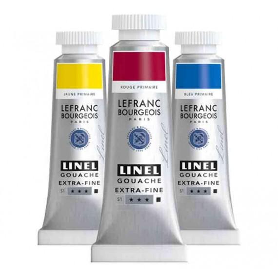 Gouache LINEL - Or  linel:blanc de titane