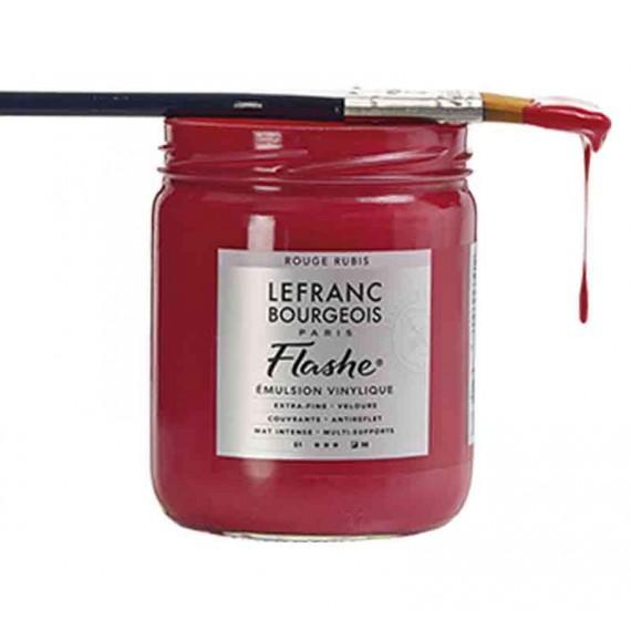 Peinture vinylique LEFRANC & BOURGEOIS Flashe  125 ml  lefranc flash:Blanc