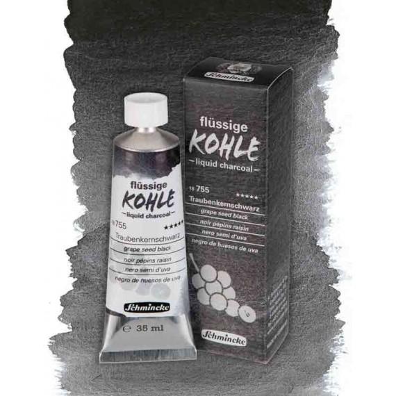 Fusain liquide SCHMINCKE teintes:noir pepins de raisin