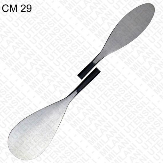 Spatule MILANI - Souple double - Taille: 300 mm - N.69