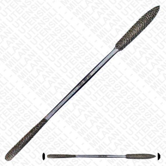 Rape en acier MILANI - Grand modèle - taille: 200mm - N.661