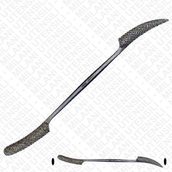 Rape en acier MILANI - Grand modèle - Taille: 250mm -N.662