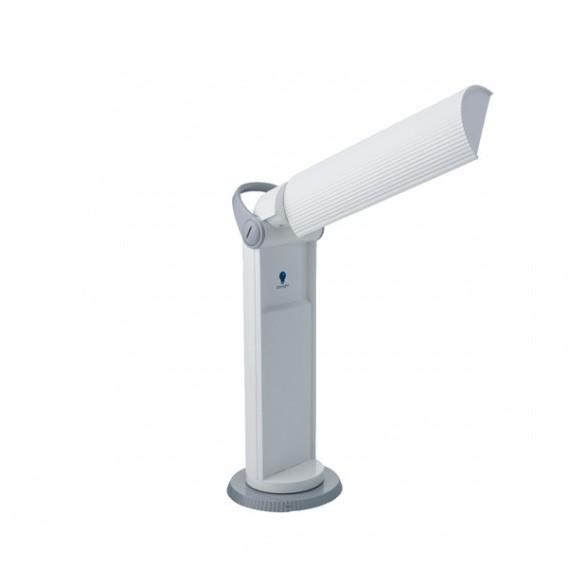 "LAMPE PORTATIVE ""TWIST"" DAYLIGHT BLANC/GRIS E33700 (EX-E33150)"